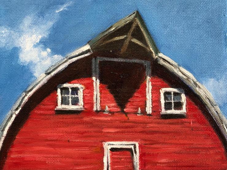 #architecturalart#oilpainting#industrialart#landscapepainting#impressionism#manufactoring#warehouse#barnart#barn#redbarn#farmart#farm#farmpainting#barnpainting#plienair#plienairpainters